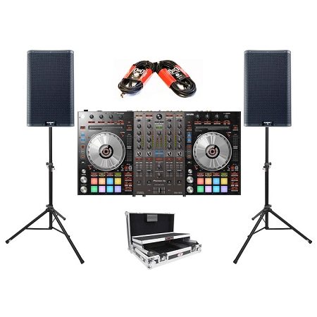 Pioneer DJ DDJ-SX3 and QSC K12.2 Package Deal