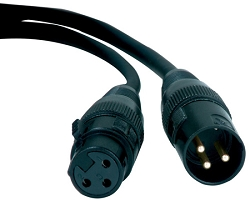 DMX CABLE 25FT