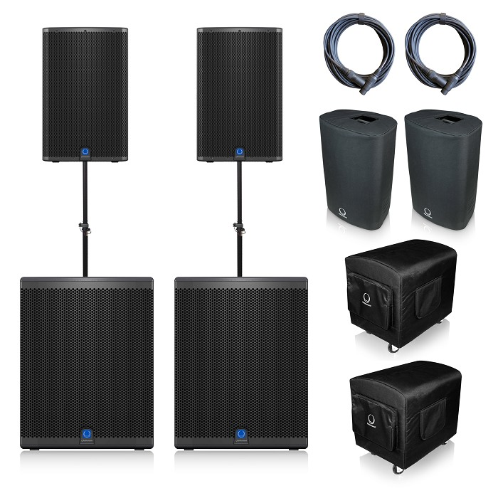 Turbosound iQ12 & iQ18b Package