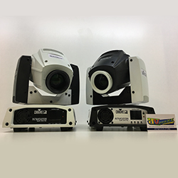 Chauvet DJ Intimidator Spot 255 IRC in White Duo Package