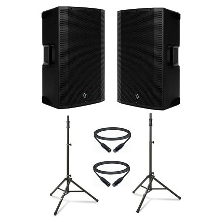 Mackie THUMP 15A Duo Pack w Speaker Stand