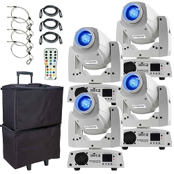Chauvet DJ Intimidator Spot 255 IRC in White Quad Package