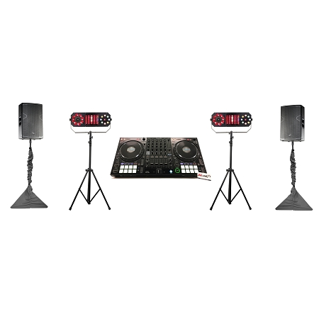 Pioneer DJ DDJ-1000 and DAS Audio Altea Complete DJ System