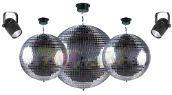 Chauvet DJ Mirror Ball Complete Pack