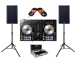 Pioneer DJ DDJ-SR2 and QSC K12.2 Package Deal