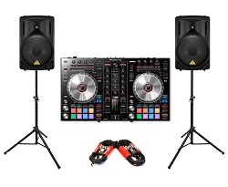 Pioneer DJ DDJ-SR2 Package Deal