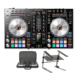 Pioneer DJ DDJ-SR2 With Laptop Stand and Bag Package Deal