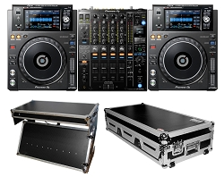 Pioneer DJ DJM-900NXS2 with (2) XDJ-1000MK2 and Z-table