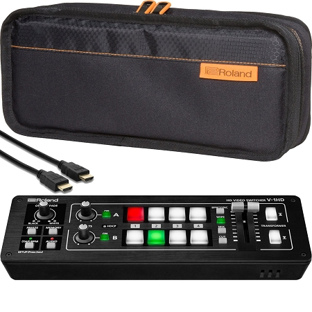 Roland V-1HD Mixer w/ Bag & HDMI Cable