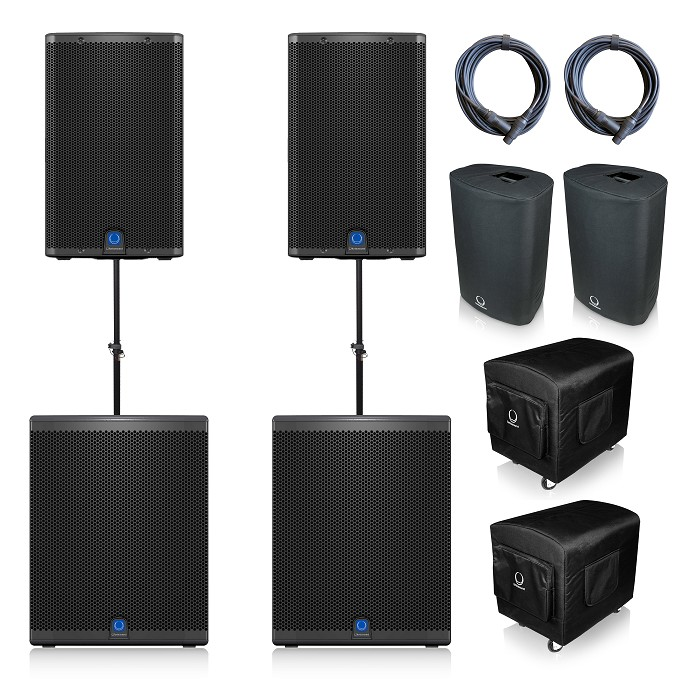 Turbosound iQ15 & iQ18b Package